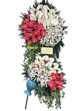 سبد گل بزرگ و تشریفاتی 265