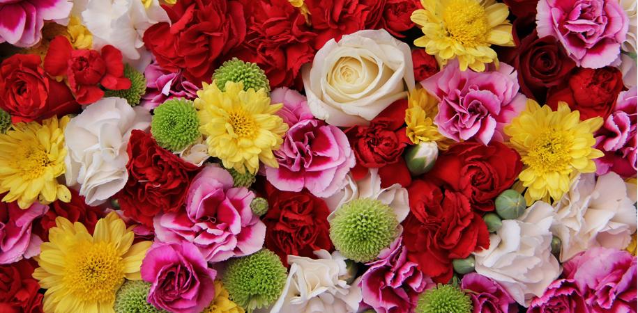 سبد گلهای فصلی